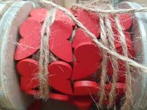 Papillons en bois rouges images stock
