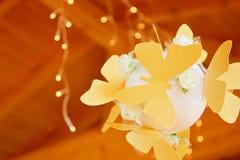 Papillons et lumières Image stock