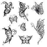 Papillons, insectes Images stock