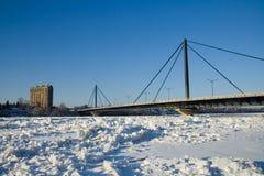 Papineau-Leblanc Brücke Lizenzfreies Stockbild