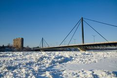 Papineau-Leblanc Bridge Royalty Free Stock Image