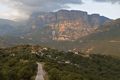 Papingo area in Greece Royalty Free Stock Images