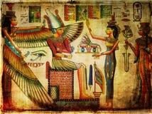 Papiro antico Fotografia Stock Libera da Diritti