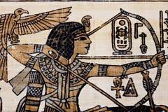 Papiro antiguo Fotos de archivo