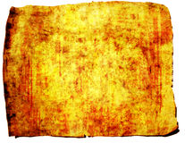 Papiro de Grunge Foto de Stock