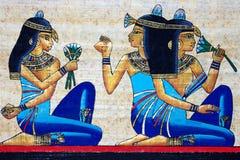 Papiro egipcio Imagenes de archivo