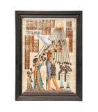 Papiro egiziano Immagine Stock