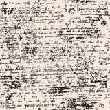 Papiro medieval con las manchas blancas /negras y los garabatos ilustración del vector