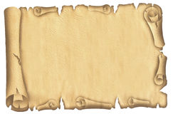Papiro velho Foto de Stock