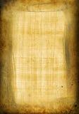 Papiro viejo con el marco stock de ilustración