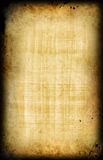 Papiro viejo egipcio Imágenes de archivo libres de regalías