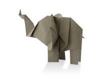 Papiroflexia del elefante Fotografía de archivo