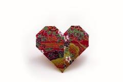 Papiroflexia Valentine Hearts Imágenes de archivo libres de regalías