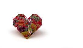 Papiroflexia Valentine Hearts Imagen de archivo libre de regalías