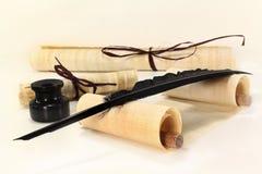 papirusowa ślimacznica Obrazy Stock