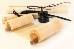 papirusowa ślimacznica Zdjęcia Stock