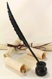 papirusowa ślimacznica Fotografia Royalty Free