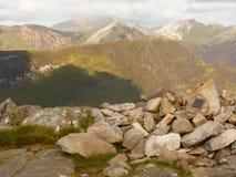 Papka Glencoe widok Zdjęcie Royalty Free