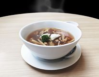 Papo delicioso s dos peixes do frescor quente chinês popular caseiro do alimento foto de stock royalty free
