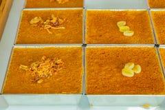 Papo doce Kaeng de Tailândia Khanom dos doces de Kaeng imagem de stock