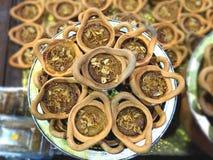Papo Kaeng de Mung Bean Thai Custard Dessert Recipe Khanom foto de stock