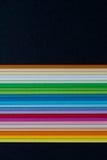 papp färgad bunt Arkivbilder