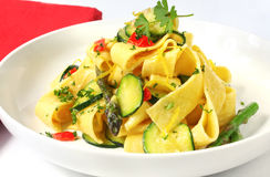 Pappardelle Stock Photography