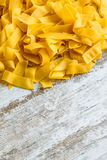 Pappardelle background Royalty Free Stock Photography