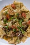 Pappardelle pasta Stock Photos
