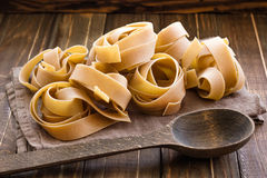 Pappardelle Royalty Free Stock Image
