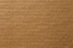 Pappark av brunt papper, abstrakt texturbakgrund Arkivfoto