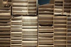 Pappbeschaffenheit nützlich als Hintergrund Lizenzfreies Stockbild