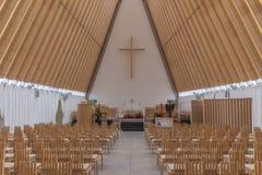 Pappdomkyrka Christchurch NZ Arkivfoton