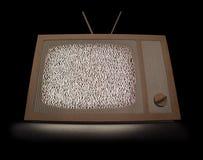 Pappe-Fernsehen Stockfotos
