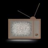 Pappe-Fernsehen Lizenzfreie Stockfotos