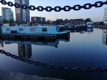 Pappel-Dock-Marinesoldat Lizenzfreie Stockfotografie