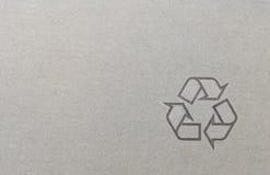 papper återanvänd symbol2 Arkivbild