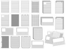 Papper Vektor Illustrationer