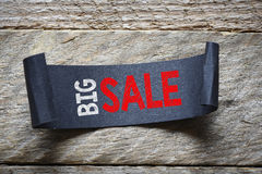 Papper with big sale Stock Image