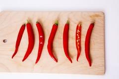 Papper del peperoncino rosso Fotografia Stock Libera da Diritti