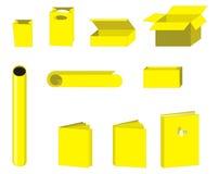 papper för 2 objekt stock illustrationer