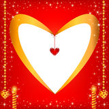 papper för förälskelse för bakgrundskortgrunge Royaltyfria Bilder