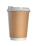 papper för kaffekopp Fotografering för Bildbyråer