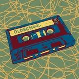 papper för kassettillustrationfärgpulver stock illustrationer