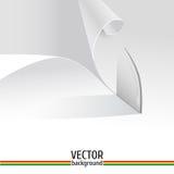 Papper i vektor vektor illustrationer