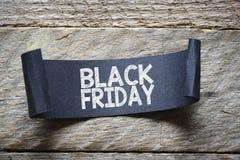 Papper med svarta fredag Royaltyfri Fotografi