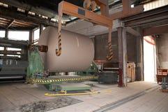 Papper och trämassa mal - fabriken, växt Royaltyfri Fotografi