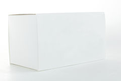 Papper pack on white background Royalty Free Stock Photography