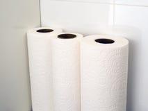 papper rullar handduken Royaltyfria Foton