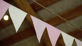 Papper sjunker garnering lager videofilmer